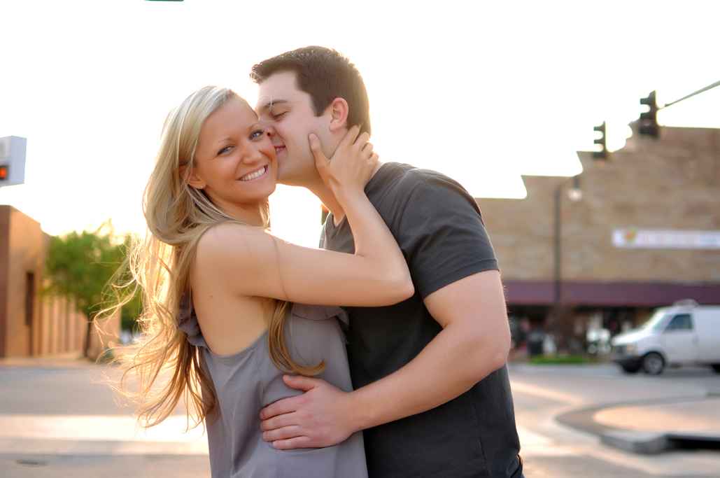 tulsa engagement portraits