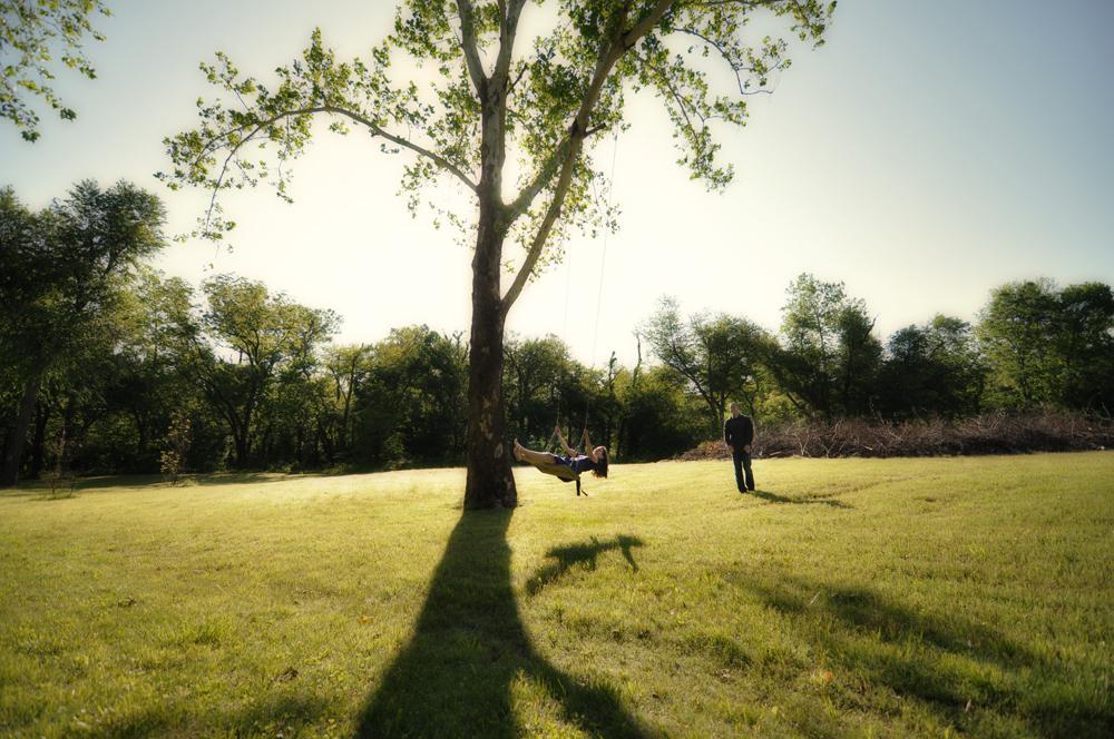 engagement session with tulsa photographers