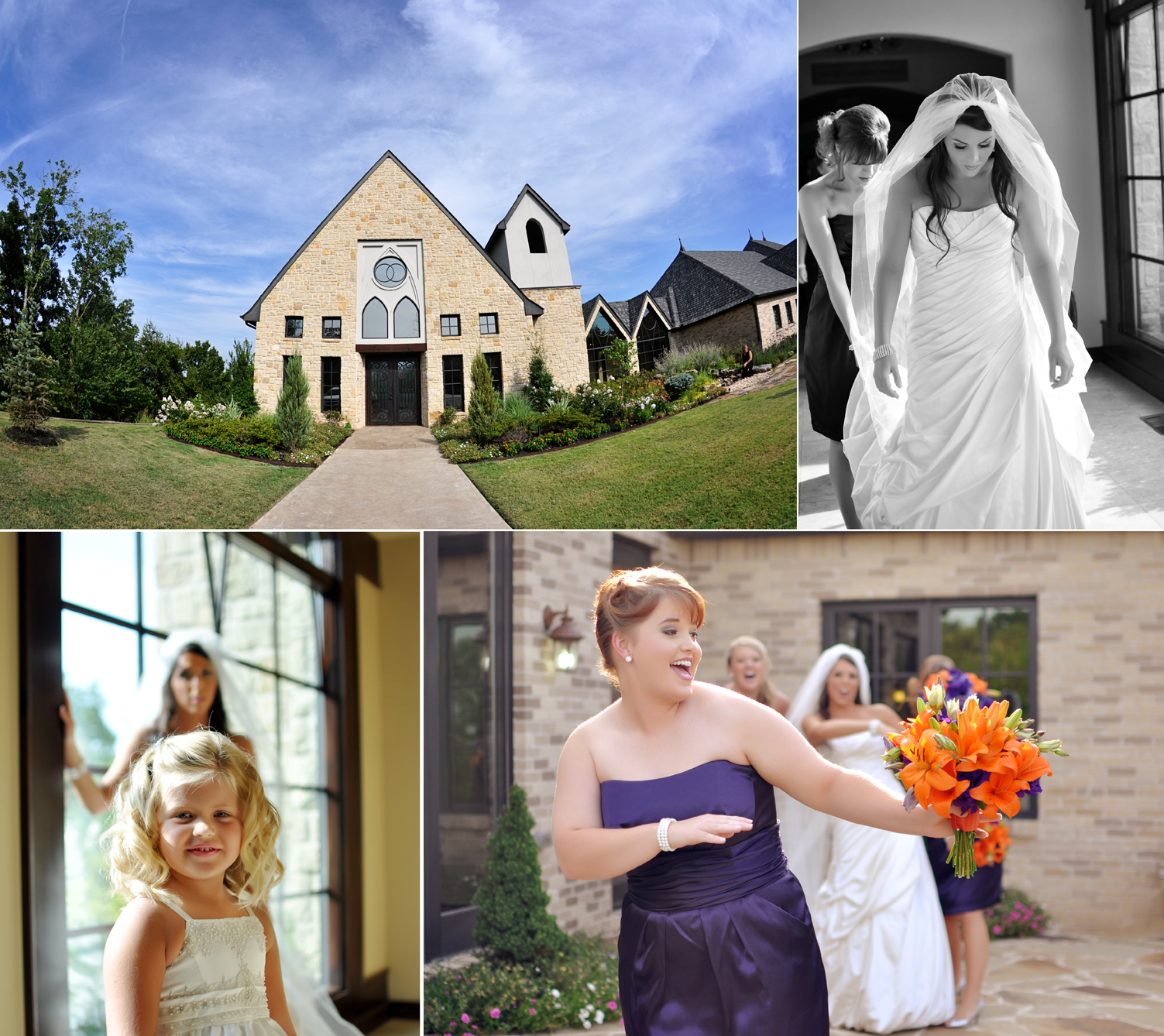 Vesica Pisces wedding with tulsa photgraphers