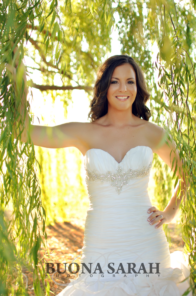 outdoor bridal portraits tulsa 