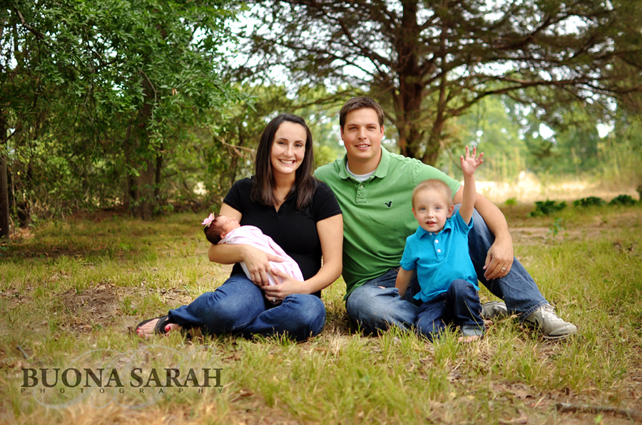 ashlynn's family with tulsa photographers