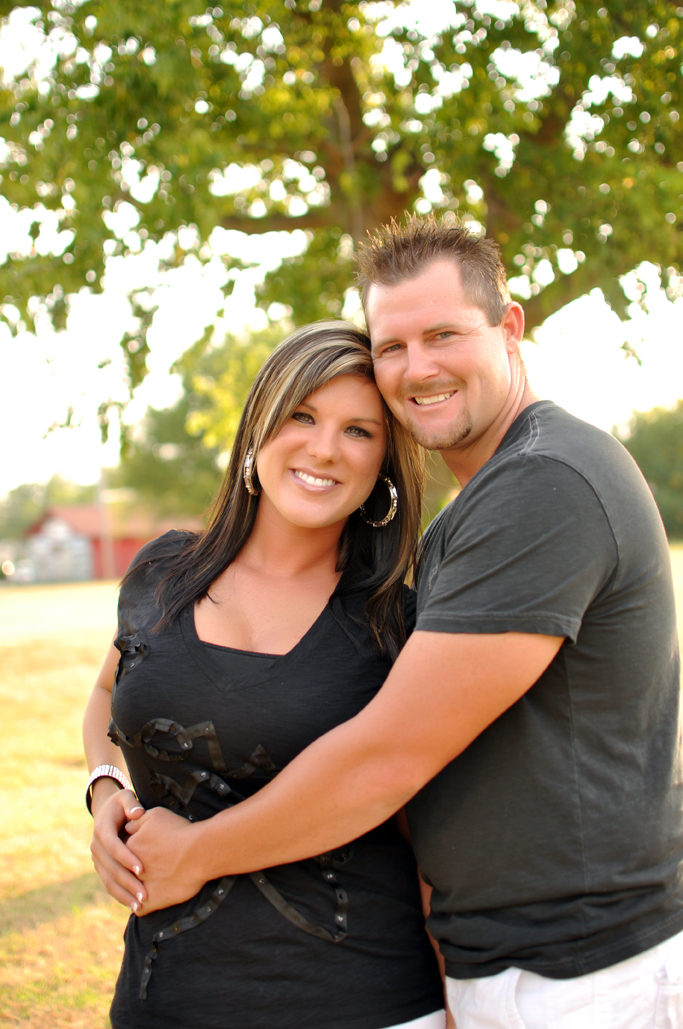 Danny & Emily's engagement pictures with tulsa photographers