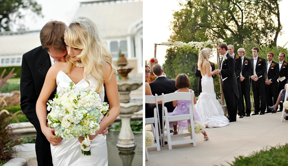 storybook weddings at tulsa garden center