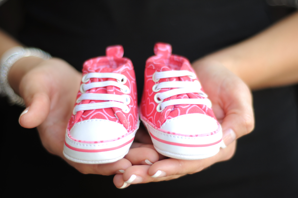 baby booties at vesica pisces with tulsa photographers