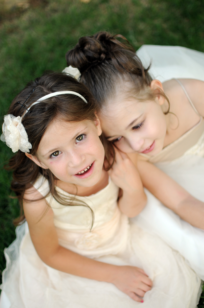 flower girls at skelly lodge