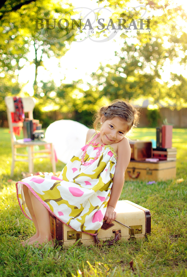 Danie's 5 year old portraits tulsa