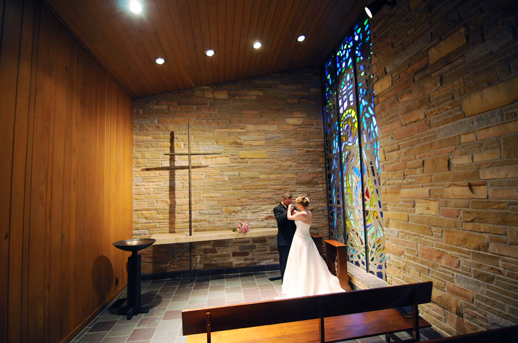 TU weddings at sharp chapel with tulsa photographers