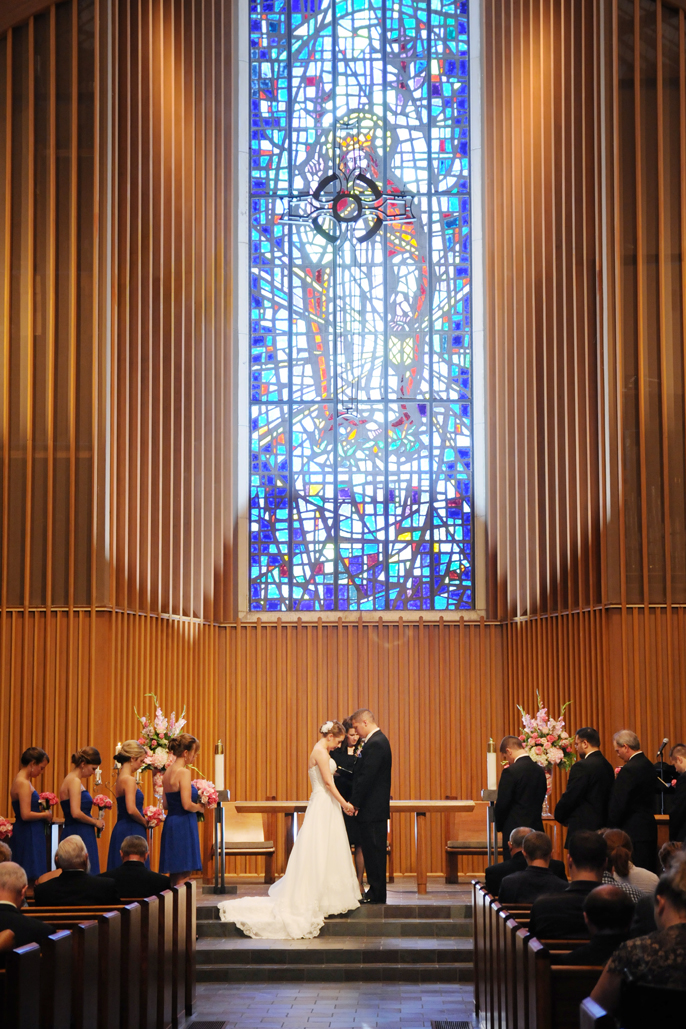 TU weddings at sharp chapel