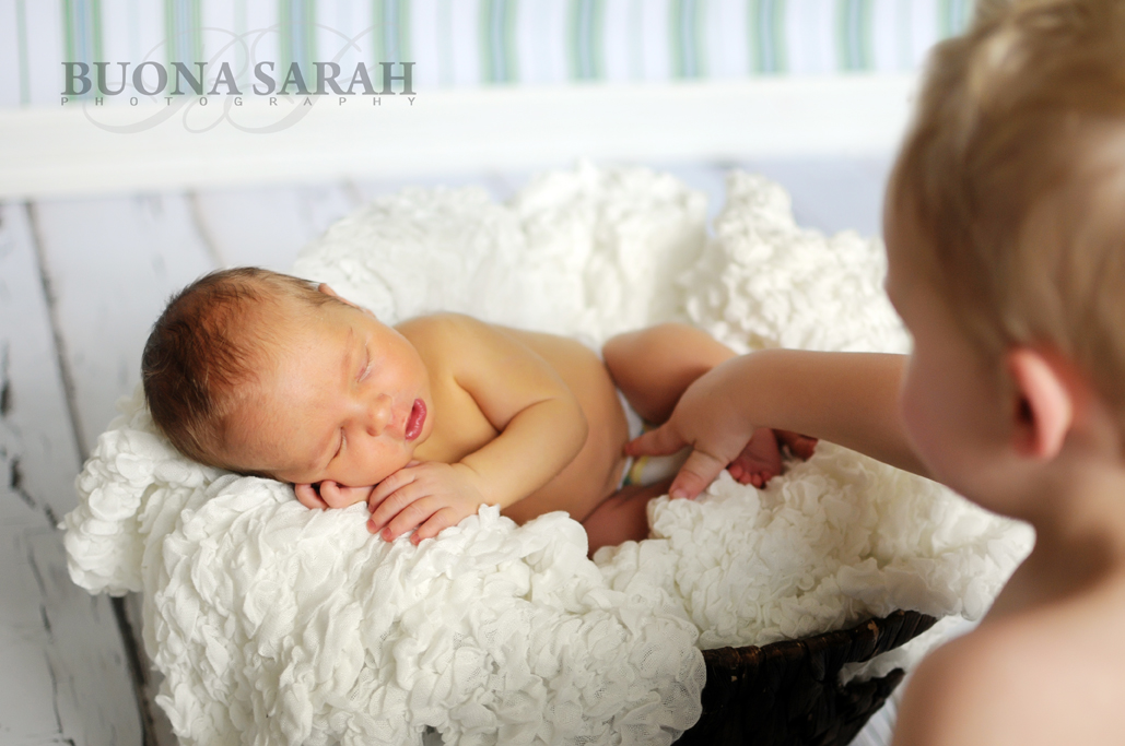 tulsa in home newborn session